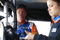 March 10, 2018 - St. Petersburg, Florida, United States of America - March 10, 2018 - St. Petersburg, Florida, USA: Scott Dixon (9) looks at practice speeds after completing final practice for the Firestone Grand Prix of St. Petersburg at Streets of St. Petersburg in St. Petersburg, Florida. (Credit Image: © Justin R. Noe Asp Inc/ASP via ZUMA Wire)