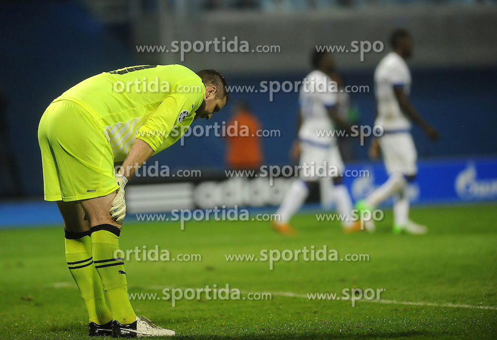 18.09.2012, Maksimir Stadium, Zagreb, CRO, UEFA Champions League, Dinamo Zagreb vs FC Porto, Gruppe A, im Bild Ivan Keleva // during the UEFA Champions League group A match between Dinamo Zagreb and FC Porto at the Maksimir Stadium, Zagreb, Croatia on 2012/09/18. EXPA Pictures © 2012, PhotoCredit: EXPA/ Pixsell/ Daniel Kasap..***** ATTENTION - OUT OF CRO, SRB, MAZ, BIH and POL *****