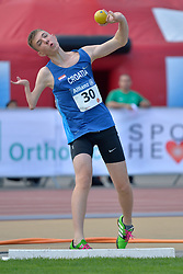 05/08/2017; Kaurin, Erik Fabian, F46, CRO at 2017 World Para Athletics Junior Championships, Nottwil, Switzerland