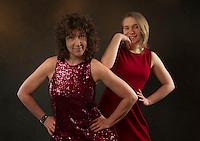 Debbie and Michelle portrait session.  ©2016 Karen Bobotas Photographer