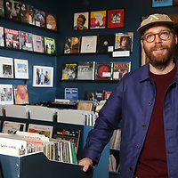 David Swider, owner of The End of All Music in Oxford.