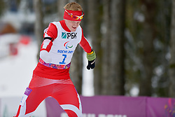 SKUPIEN Witold, Biathlon at the 2014 Sochi Winter Paralympic Games, Russia