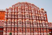The Palace of the Winds, Hawa Mahal, Jaipur, Rajasthan, India