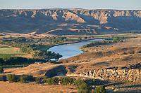 Missouri River at Judith Landing, Upper Missouri Breaks National Monument Montana