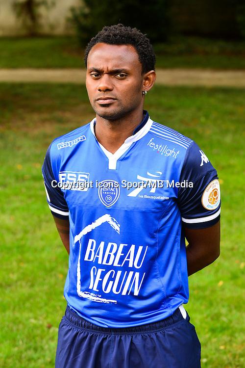 Carlos Eduardo de Castro RINCON - 02.09.2015 - Photo Officielle de Troyes - Ligue 1<br /> Photo : Dave Winter / Icon Sport