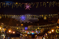 Holiday decorations in Annapolis, Maryland,