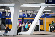 Nederland, Arnhem, 13-6-2012Het vernieuwde centraal station van de NS. Arnhem wordt in de toekomst een knooppunt voor het treinverkeer.Foto: Flip Franssen/Hollandse Hoogte