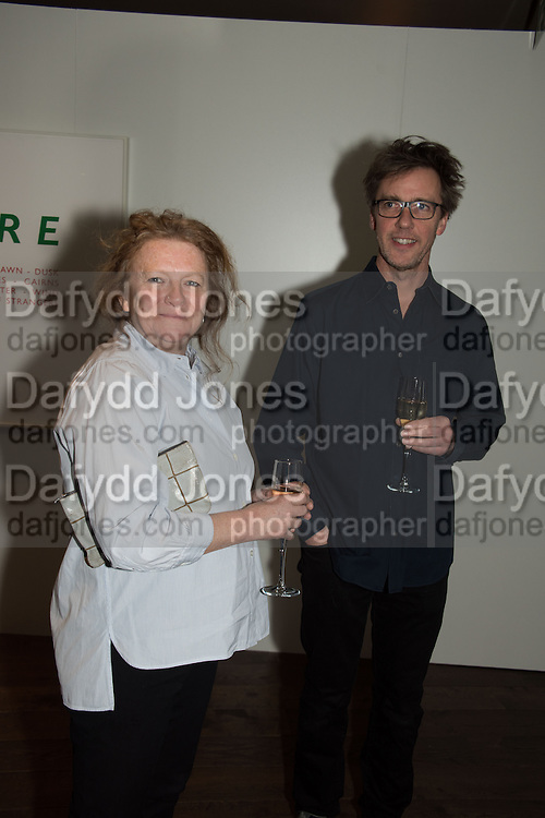RACHEL WHITEREAD; MARCUS TAYLOR, Whitechapel Gallery Art Icon 2015 Gala dinner supported by the Swarovski Foundation. The Banking Hall, Cornhill, London. 19 March 2015