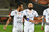 FOOTBALL : Lorient vs Montpellier - Ligue 1 - 29/10/2016<br /> HILTON Vitorino (Montpellier) / VANDEN BORRE Anthony (Montpellier)<br /> <br /> Norway only