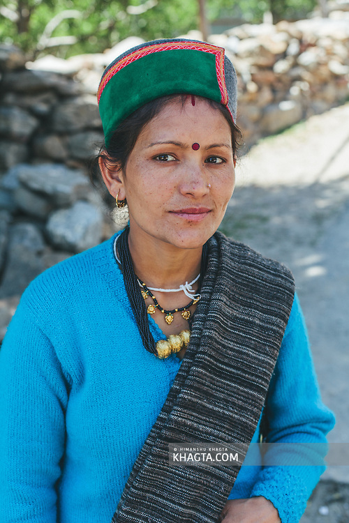 Portrait of a Kinnauri Lady