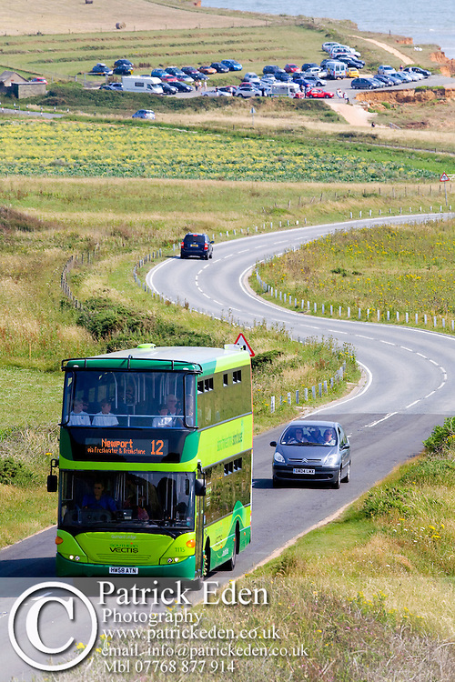 Southern Vectis Bus Route 12 Compton Bay Isle of Wight photography photograph canvas canvases