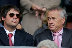 Liverpool, England - Sunday, October 7, 2007: Liverpool's Director Foster Gillett and Chief-Executive Rick Parry during the Premiership match against Tottenham Hotspur at Anfield. (Photo by David Rawcliffe/Propaganda)