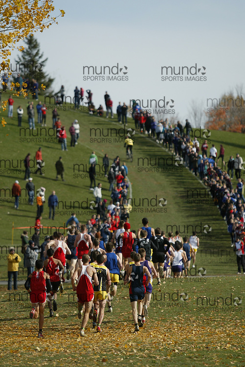 Ottawa, Ontario ---29-10-11--- The 2011 men's OUA XC Championships presented by Suunto