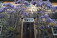 Door, Home Sweet Home, East Hampton, New York, USA. Long Island