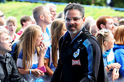 Huddersfield Town manager arrives at the John Smith's Stadium - Mandatory by-line: Matt McNulty/JMP - 26/08/2017 - FOOTBALL - The John Smith's Stadium - Huddersfield, England - Huddersfield Town v Southampton - Premier League