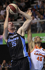 Auckland - Basketball -ANBL 2012-13, Round 22, Breakers v Taipans