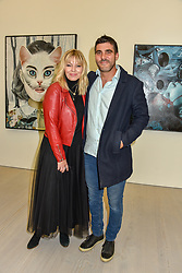 Kate Thornton and ? at the START Art Fair - Preview Evening held at the Saatchi Gallery, Duke of York's HQ, King's Road, London on 25th September 2019.