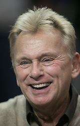 November 27, 2017 - Los Angeles, California, U.S - Pat Sajak attends the game between the Los Angeles Clippers and the Los Angeles Lakers on Monday November 27, 2017 at the Staples Center in Los Angeles, California. Clippers vs Lakers. (Credit Image: © Prensa Internacional via ZUMA Wire)
