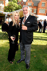 JOHN RUBIN and LYNSEY DE PAUL at the Lady Taverners Westminster Abbey Garden Party, The College Garden, Westminster Abbey, London SW1 on 10th July 2007.<br /><br />NON EXCLUSIVE - WORLD RIGHTS