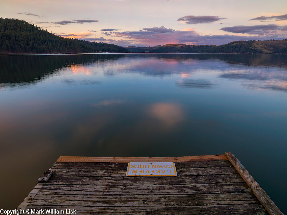 Lake side docks in Heyburn State Park, Idaho's oldest park.