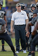 WEST LAFAYETTE, IN - SEPTEMBER 15: Head coach Jeff Brohhm of the Purdue Boilermakers at Ross-Ade Stadium on September 15, 2018 in West Lafayette, Indiana. (Photo by Michael Hickey/Getty Images) *** Local Caption *** Jeff Brohhm NCAA Football - Purdue Boilermakers vs Missouri Tigers at Ross-Ade Stadium in West Lafayette, Indiana. Sports photographer by Michael Hickey