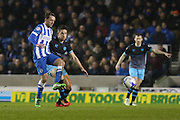 Brighton central midfielder, Dale Stephens (6) during the Sky Bet Championship match between Brighton and Hove Albion and Sheffield Wednesday at the American Express Community Stadium, Brighton and Hove, England on 8 March 2016. Photo by Phil Duncan.