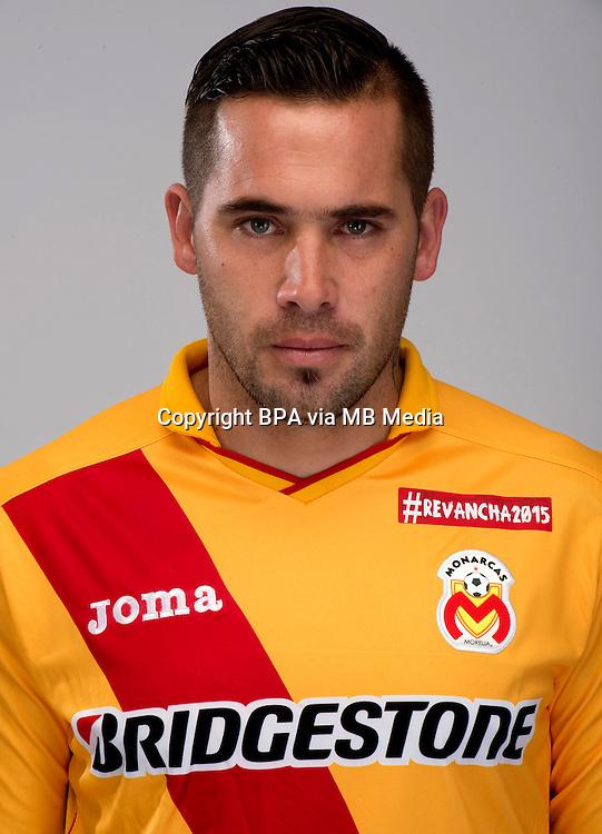 Mexico League - BBVA Bancomer MX 2014-2015 -<br /> La Monarquia - Club Atletico Monarcas Morelia / Mexico - <br /> Mauro Cejas