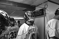 26 April 2009: Duke Blue Devils defenseman CJ Costabile (9)  during a 15-13 win over the North Carolina Tar Heels during the ACC Championship at Kenan Stadium in Chapel Hill, NC.