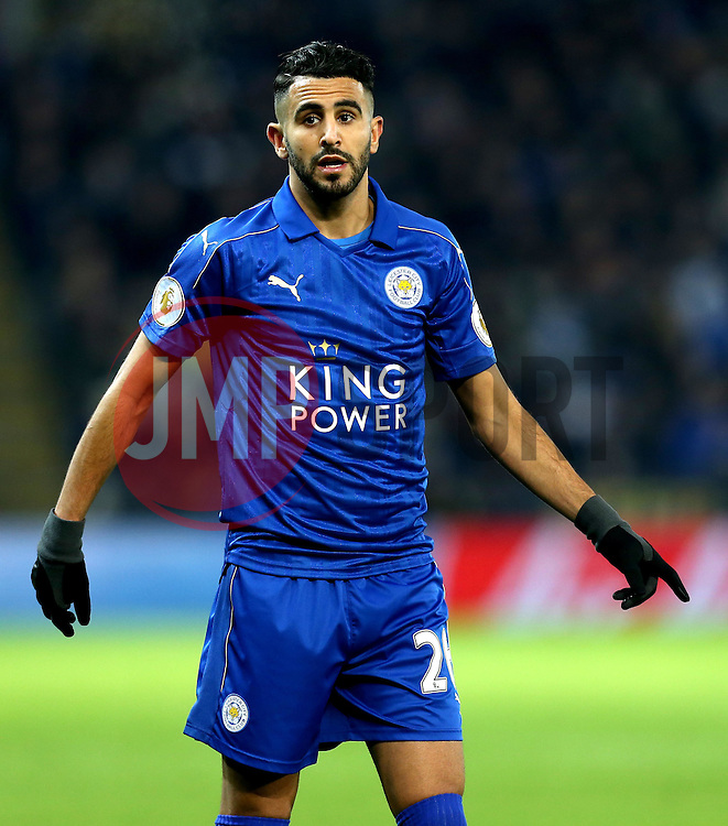 Riyad Mahrez of Leicester City - Mandatory by-line: Robbie Stephenson/JMP - 27/02/2017 - FOOTBALL - King Power Stadium - Leicester, England - Leicester City v Liverpool - Premier League