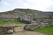 Greece, Rhodes, Kamiros, The Doric Temple 3rd - 2nd century BCE