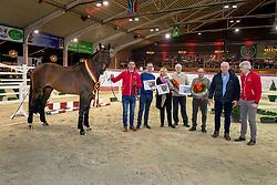 Eldorado van de Zeshoek, Merckx Paul, Nijhof familie, Van den Oetelaar Kees<br /> BWP Hengstenkeuring - Lier 2020<br /> © Hippo Foto - Dirk Caremans<br /> 17/01/2020