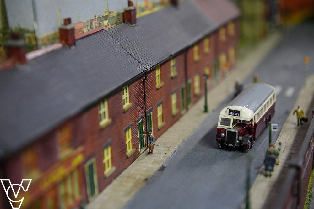 INSIGHT MAGAZINE: Bridlington Model Railway Society are based in Station Road, Bridlington, in a railway arch unit owned by Network Rail.  Pictured is a close up of some of the models owned by Bridlington Model Railway Society.<br /> <br /> Picture: Chris Vaughan Photography<br /> Date: May 31, 2017