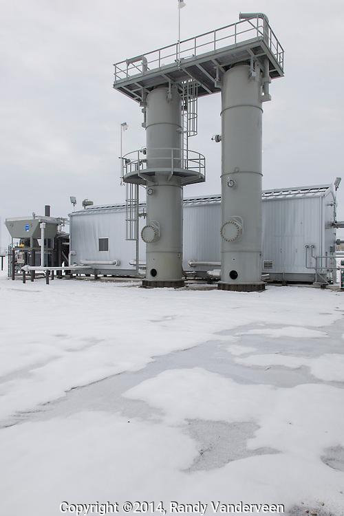 Photo Randy Vanderveen<br /> Elmworth?Grande Prairie, Alberta<br /> 2014-10-28<br /> The grand opening of Ferus' LNG plant at Elmworth.