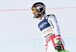 13.02.2017, St. Moritz, SUI, FIS Weltmeisterschaften Ski Alpin, St. Moritz 2017, alpine Kombination, Herren, Slalom, im Bild Marcel Hirscher (AUT, Herren Alpine Kombination Silbermedaille) // men's Alpine Combined Silver medalist Marcel Hirscher of Austria reacts after his run of Slalom competition for the men's Alpine combination of the FIS Ski World Championships 2017. St. Moritz, Switzerland on 2017/02/13. EXPA Pictures © 2017, PhotoCredit: EXPA/ Erich Spiess