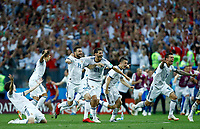Russia team celebration after the decisive penalty scored<br /> Moscow 01-07-2018 Football FIFA World Cup Russia  2018 <br /> Spain - Russia / Spagna - Russia <br /> Foto Matteo Ciambelli/Insidefoto