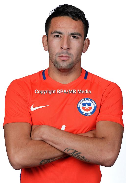 Football Conmebol_Concacaf - <br />Copa America Centenario Usa 2016 - <br />Cile National Team - Group D - <br />Mauricio Isla