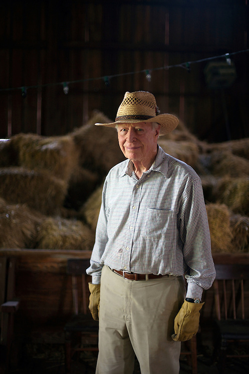 8/13/08 11:14:19 AM -- Seneca, Md., U.S.A..Austin Kiplinger photographed at his farm in Seneca, Md., on Wednesday, Aug. 13, 2008...Photo by Jay Westcott, Freelance.