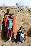 TANZANIA. Piyaya (Maasai Village). Gols Mountains. August 9th 2009.