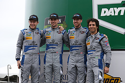 January 27, 2018 - Daytona, FLORIDE, ETATS UNIS - 14 3GT RACING (USA) LEXUS RC F GT3 LEXUS GTD DOMINIK BAUMANN (AUT) KYLE MARCELLI (CAN) PHILIPP FROMMENWILER (CHE) BRUNO JUNQUEIRA  (Credit Image: © Panoramic via ZUMA Press)