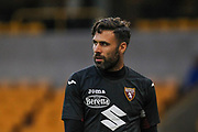 Salvatore Sirigu of Torino during the Europa League play off leg 2 of 2 match between Wolverhampton Wanderers and Torino at Molineux, Wolverhampton, England on 29 August 2019.