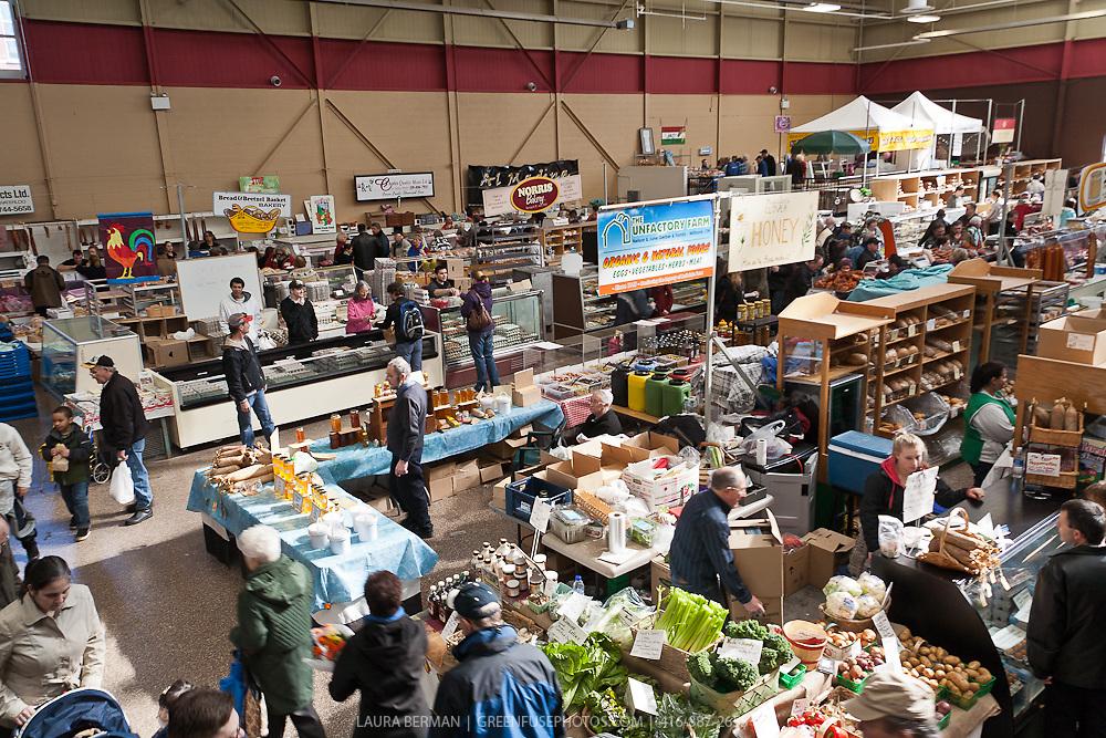 Kitchener farmers' market, Kitchener, Ontario.