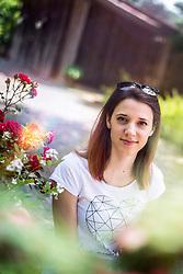 Portrait of a singer Monika Avsenik, Begunje na Gorenjskem, Slovenia on 12th of June, 2019. Photo by Peter Podobnik / Sportida