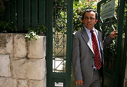 Jerusalem - May 4th,  2008 --Portraits of Muhammad Dahleh,  lawyer, Jerusalem, May 4th, 2008. Picture by Andrew Parsons / i-Images