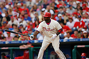 27 Sept 2008: Philadelphia Phillies first baseman Ryan Howard #6 during the game against the Washington Nationals on September 27th, 2008. The Phillies won 4-3 to clinch the National League Eastern Division title at Citizens Bank Park in Philadelphia, Pennsylvania