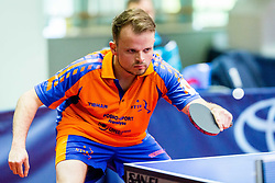 (NED) VAN AMERONGEN Andrianus Johannes in action during 15th Slovenia Open - Thermana Lasko 2018 Table Tennis for the Disabled, on May 10, 2018 in Dvorana Tri Lilije, Lasko, Slovenia. Photo by Ziga Zupan / Sportida
