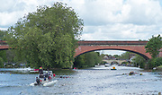 Maidenhead. Berkshire. United Kingdom. General view, JW4X.  racing at the 2017 Maidenhead Junior Regatta  River Thames. <br /> <br /> [©Peter SPURRIER/Intersport Images] Sunday. 14.05.2017