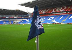 Corner flag - Mandatory by-line: Nizaam Jones/JMP- 26/12/2017 -  FOOTBALL - Cardiff City Stadium - Cardiff, Wales -  Cardiff City v Fulham - Sky Bet Championship