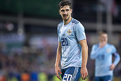 November 15, 2018 - Dublin, Ireland - Craig Cathcart of N.Ireland pictured during the International Friendly match between Republic of Ireland and Northern Ireland at Aviva Stadium in Dublin, Ireland on November 15, 2018  (Credit Image: © Andrew Surma/NurPhoto via ZUMA Press)