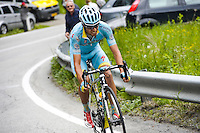 Mikel Landa - Astana - 26.05.2015 - Tour d'Italie - Etape 16 - Pinzolo / Aprica<br />