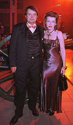 DR JOHANN LANDES and PRINCESS CATHARINE COLONNA, at a party in London on 31st January 1998.MEZ 66
